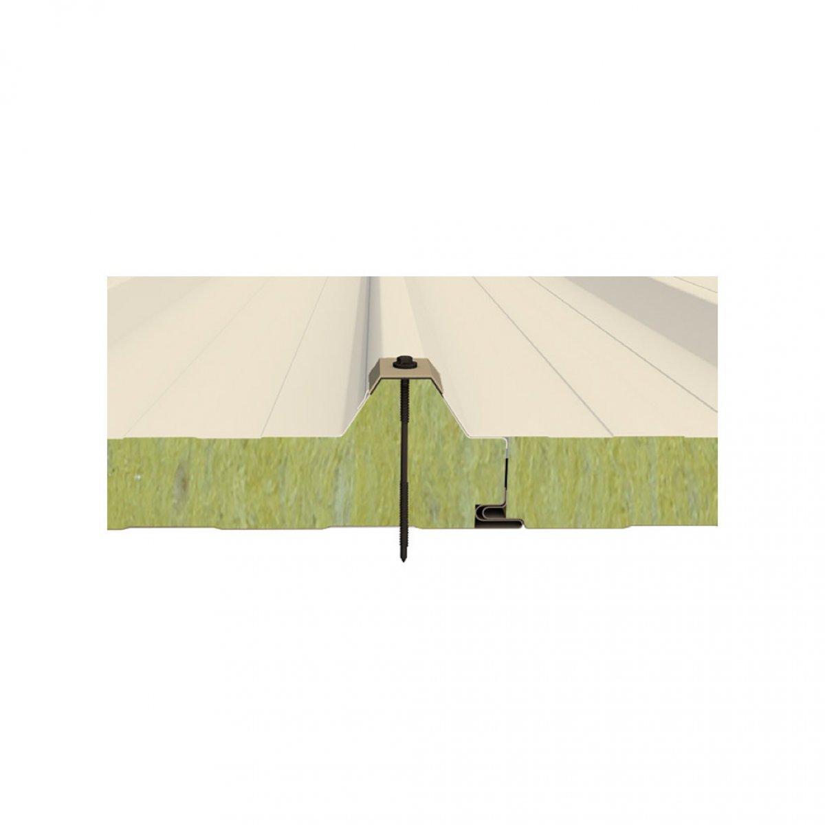 Perforasyonlu Taşyünü Çatı Paneli